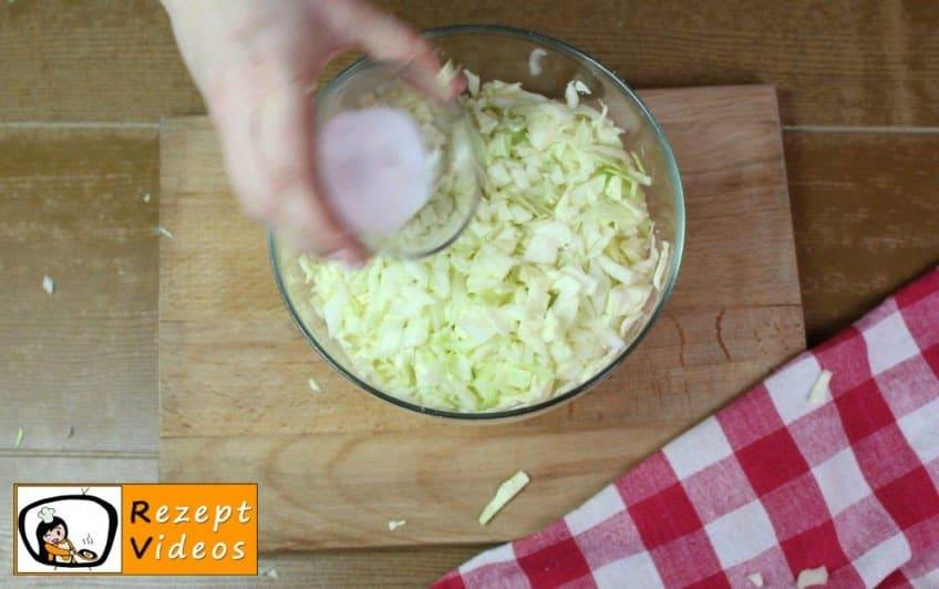 Einfache Krautfleckerl Rezept - Zubereitung Schritt 2
