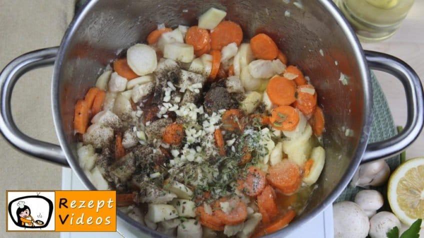 Estragon-Ragout-Suppe Rezept - Zubereitung Schritt 3