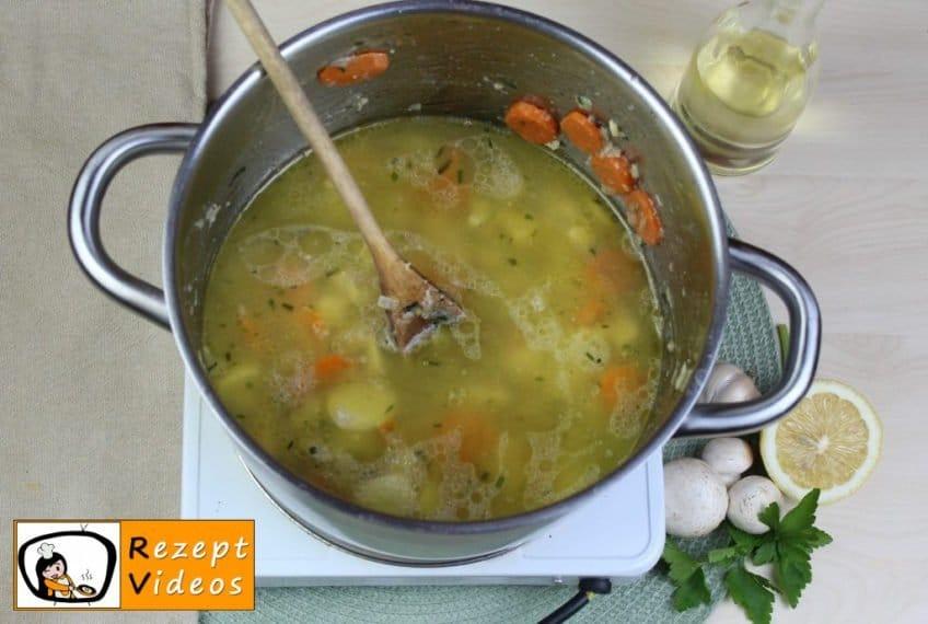 Estragon-Ragout-Suppe Rezept - Zubereitung Schritt 4