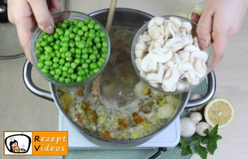 Estragon-Ragout-Suppe Rezept - Zubereitung Schritt 5
