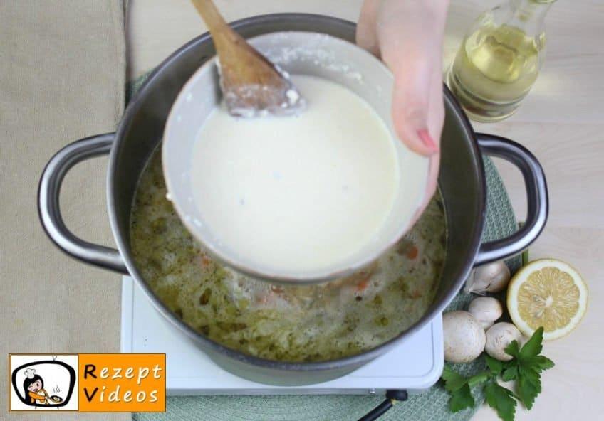 Estragon-Ragout-Suppe Rezept - Zubereitung Schritt 6