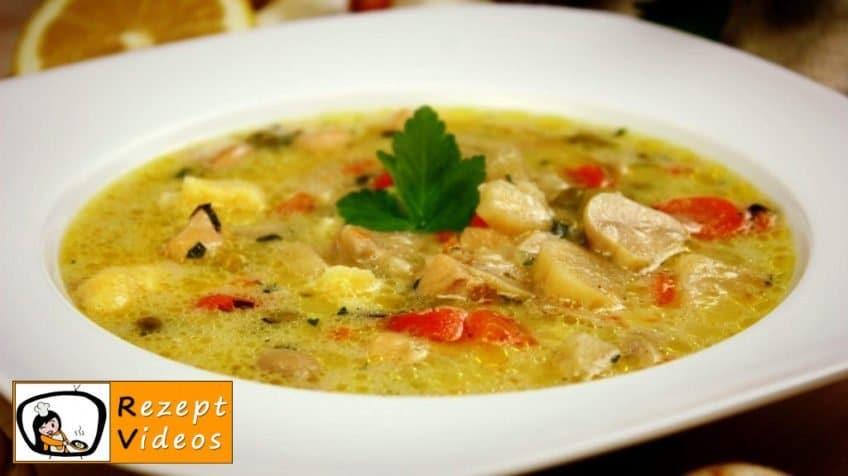 Estragon-Ragout-Suppe - Rezept Videos
