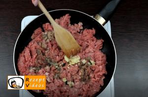 Fleischschnecken Rezept - Zubereitung Schritt 1