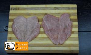 Gefüllte Hähnchenbrust mit Senf-Béchamelsauce Rezept - Zubereitung Schritt 3