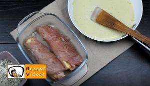 Gefüllte Hähnchenbrust mit Senf-Béchamelsauce Rezept - Zubereitung Schritt 6