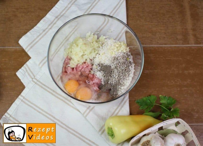 Gefüllte Paprika Rezept Zubereitung Schritt 1