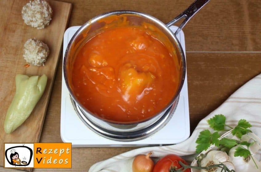 Gefüllte Paprika Rezept Zubereitung Schritt 10