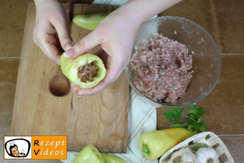 Gefüllte Paprika Rezept Zubereitung Schritt 2