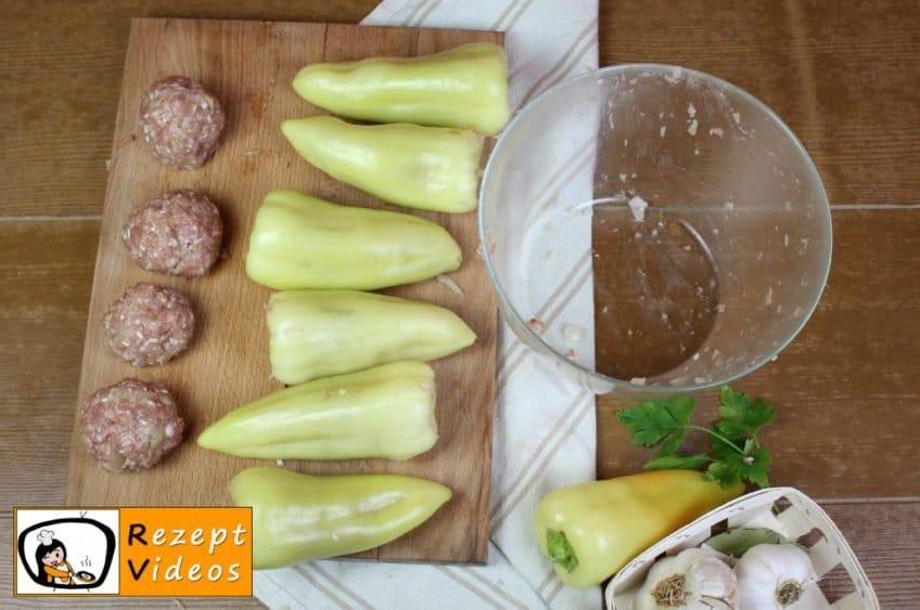 Gefüllte Paprika Rezept Zubereitung Schritt 3