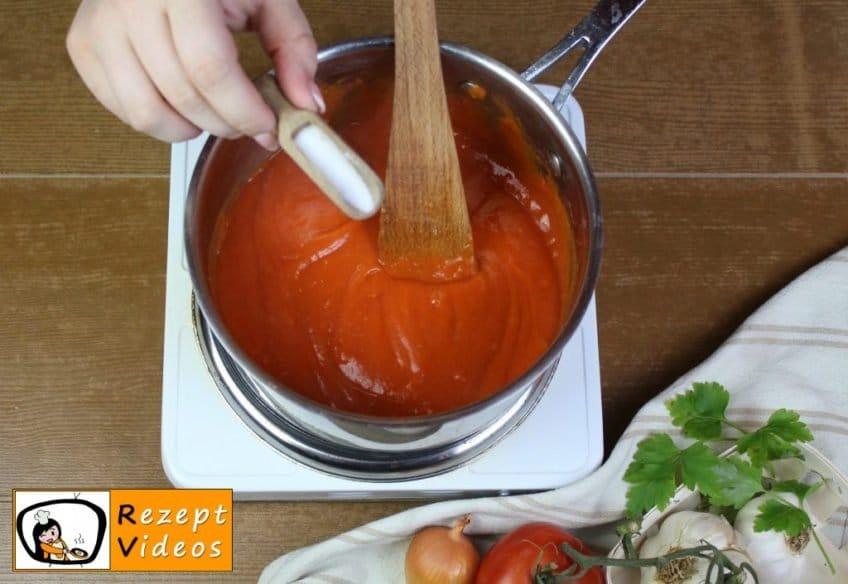 Gefüllte Paprika Rezept Zubereitung Schritt 8