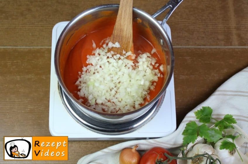 Gefüllte Paprika Rezept Zubereitung Schritt 9