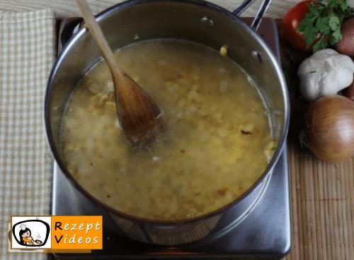 Gelbe Erbsengemüse Rezept Zubereitung Schritt 2
