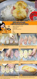 Hähnchenbrust mit Ananas und Käse Rezept mit Video