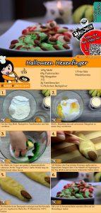 Halloween Hexenfinger Rezept mit Video