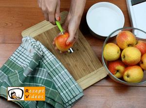 Apfelrosen-Kuchen Rezept Zubereitung Schritt 1