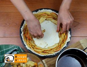 Apfelrosen-Kuchen Rezept Zubereitung Schritt 7