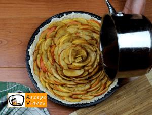 Apfelrosen-Kuchen Rezept Zubereitung Schritt 8