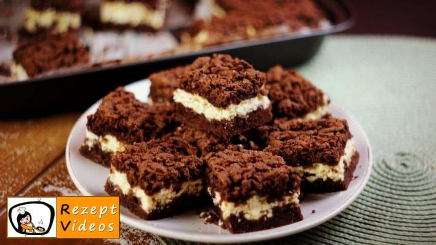 Kakao-Quarkkuchen - Rezept Videos