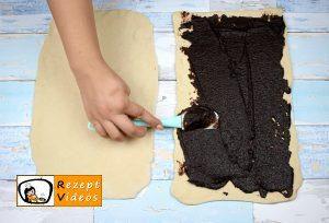 Kakaoschnecken Rezept - Zubereitung Schritt 3