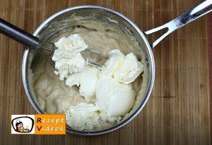 Karamell-Löffelbiskuit-Schnitten Rezept Zubereitung Schritt 4