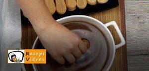 Karamell-Löffelbiskuit-Schnitten Rezept Zubereitung Schritt 8