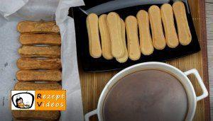 Karamell-Löffelbiskuit-Schnitten Rezept Zubereitung Schritt 9
