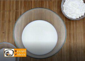 Karamell-Löffelbiskuit-Schnitten Rezept Zubereitung Schritt 1