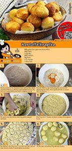 Kartoffelkrapfen Rezept mit Video