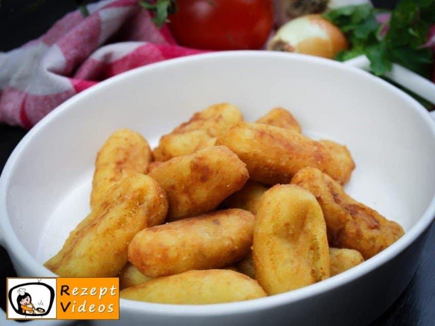 Kartoffelkroketten - Rezept Videos