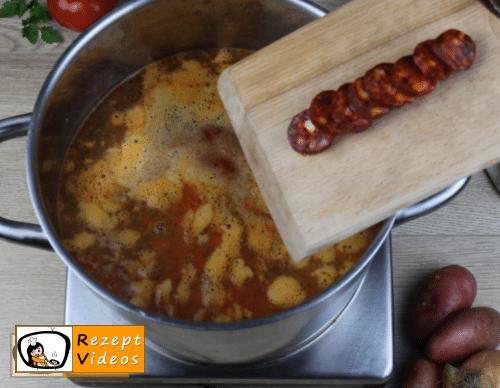 Kartoffelsuppe Rezept - Zubereitung Schritt 6