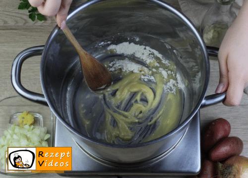 Kartoffelsuppe Rezept - Zubereitung Schritt 1