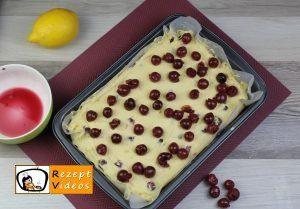 Kirsch-Rührkuchen Rezept Zubereitung Schritt 7