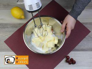 Kirsch-Rührkuchen Rezept Zubereitung Schritt 1