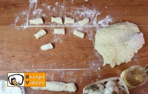 Knoblauch-Gnocchi mit Käsesoße Rezept - Zubereitung Schritt 3