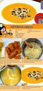 Kürbiscremesuppe Rezept mit Video