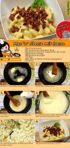 Mac 'n' Cheese mit Bacon Rezept mit Video
