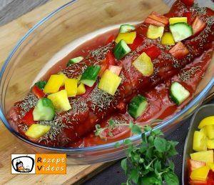 Makkaroni-Fleisch-Rolle Rezept Zubereitung Schritt 6