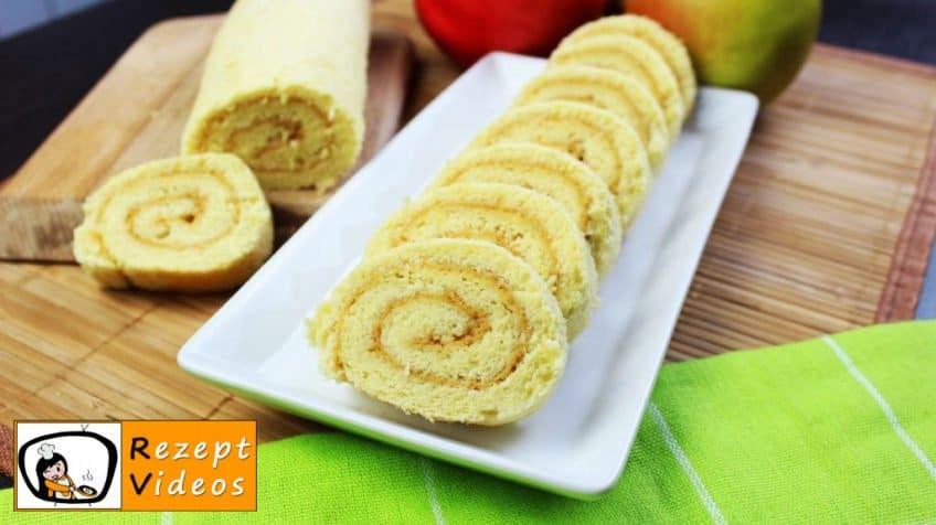 Marmeladen-Biskuitrolle- Rezept Videos