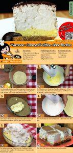 Maronen-Cremeschnitten ohne backen Rezept mit Video