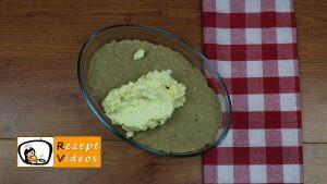 Maronen-Cremeschnitten ohne backen Rezept Zubereitung Schritt 3