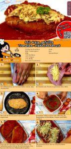 Mit Käse gefüllte Tomaten-Hähnchenbrust Rezept mit Video