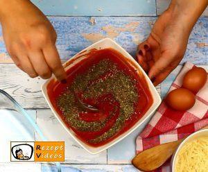 Mit Käse gefüllte Tomaten-Hähnchenbrust Rezept - Zubereitung Schritt 4