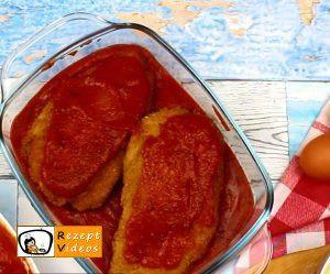 Mit Käse gefüllte Tomaten-Hähnchenbrust Rezept - Zubereitung Schritt 5
