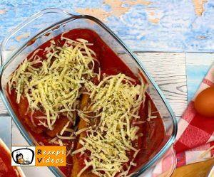 Mit Käse gefüllte Tomaten-Hähnchenbrust Rezept - Zubereitung Schritt 6