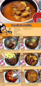 Paprikakartoffeln Rezept mit Video