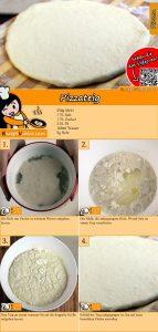 Pizzateig Rezept mit Video
