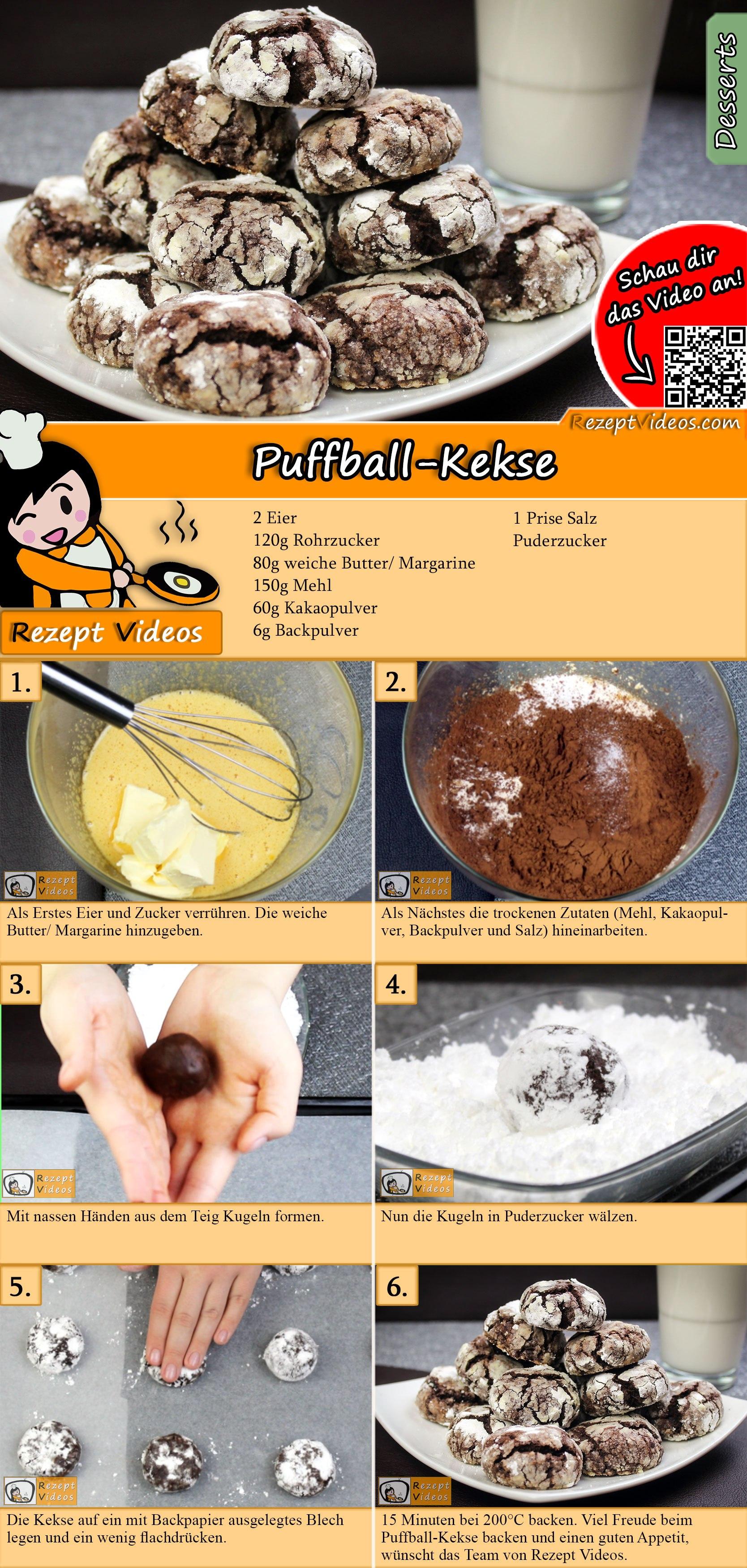Puffball-Kekse Rezept mit Video