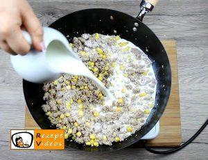 Sahne-Mais-Penne Rezept - Zubereitung Schritt 2