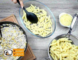 Sahne-Mais-Penne Rezept - Zubereitung Schritt 3
