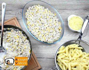Sahne-Mais-Penne Rezept - Zubereitung Schritt 4